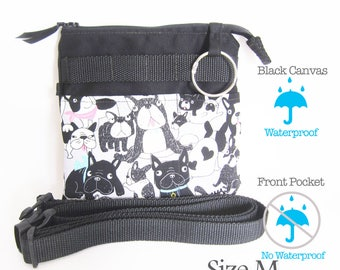 Dog crossbody bag, Zipper nurse crossbody bag, Nurse Crossbody, Teachers shoulder bag, Nurse gift, Teachers gift, veterinarian bag, vets bag