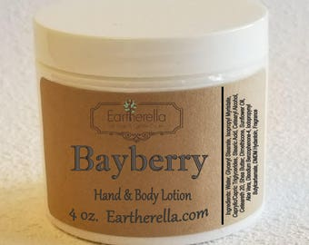 Eartherella BAYBERRY Hand and Body Lotion Jar 4 oz.