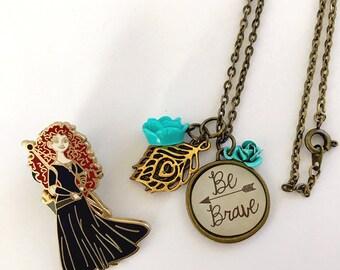 Brave, Merida Inspired Necklace