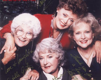The Golden Girls Signed REPRINT Autographed Photo 8x10 COA