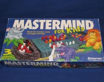 MASTERMIND FOR KIDS 1995 Pressman Games Master Mind