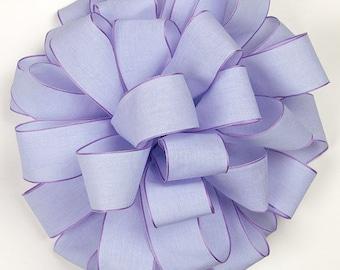 Soft Heathered Ribbon, Lavender Ribbon, 25 Yard Roll