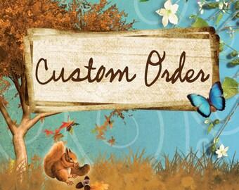 Custom Order of Ocean Treasure Earrings II