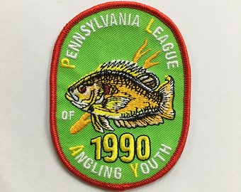 1990 Pennsylvania Fish commission PLAY pumpkinseed patch