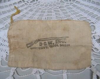 Dixie Gun Works Ammo Bag, Vintage Ammunition Bag