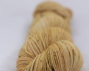 Hand-dyed yarn - sock yarn - superwash - merino - dyed-to-order - speckles - ORGE