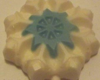 Snowflake Chocolate Candy Lollipop
