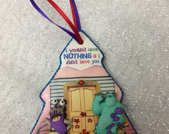 Monsters, Inc. 3D custom personalized Christmas ornament