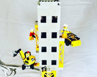 LEGO® Lamp - NYC Construction Worker