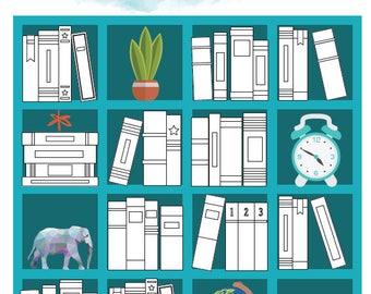 Book Tracker Etsy