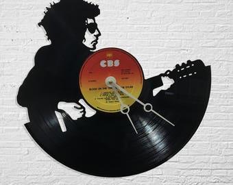 Bob Dylan Record Clock