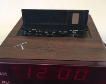 70s or 80s Copal Digital Alarm Clock
