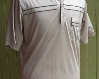 HAPPY SUMMER SALE Vintage Short Sleeve Polo Shirt by Royale-Air