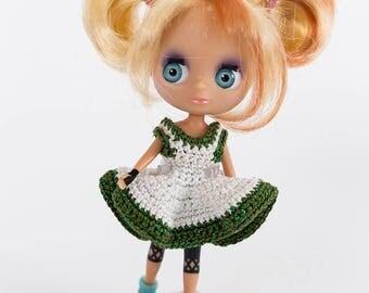 Crotchet Fashion for mini Blythe