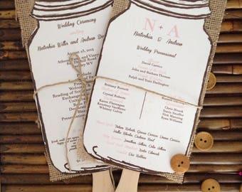 Custom Wedding Programs- 102