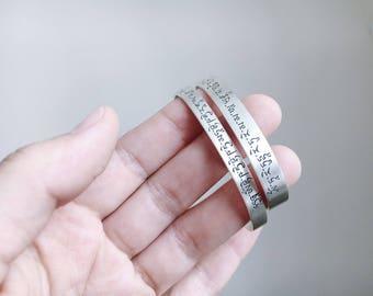 Simple engraving for rings, blackened engraving