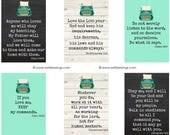 Typewriter Verse Cards