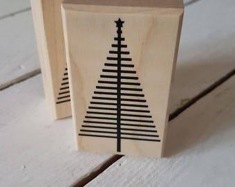 Stamp fir Christmas tree