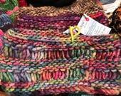 Custom Order for Robin- 2 fashion cowls, Infinity scarf, infinity cowl, neckwarmer, circle scarf, chunky knit, scarf, Handknit, merino wool