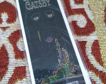 The Great Gatsby Bookmark w/Quote