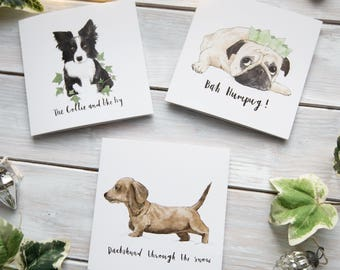 Dog Pun Christmas Cards | Charity Cards