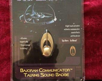 Vintage Star Trek Deep Space Nine Comminicator