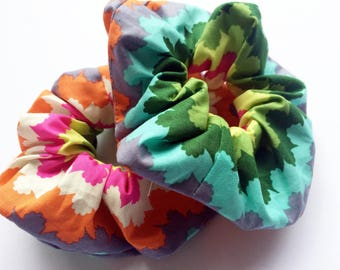 Lucy and Mabs BIG Modern Rainbow Scrunchie/ Hair Tie/Scrunchy