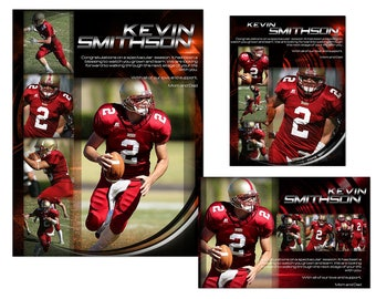 Yearbook Sports Ads Templates