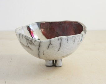 Ceramic Bowl | Bowl | Small | Ceramics | Decoration | Home Decoration | Raku | Simple | Art | Unique Bowl | Handmade Bowl