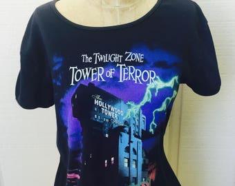 Twilight Zone Tower Of Terror T Shirt