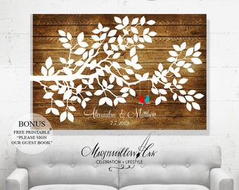 Custom Guest Book Sign In Wedding Tree, Wedding Guest Book Alternative Wedding Signs Tree Guest Book Wood Guest Book Poster Guestbook Ideas