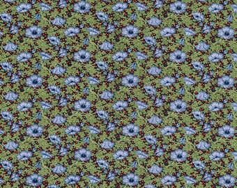 1 yard Vintage Florals by Victoria & Albert for Rowan Westminster Fabrics Floret Sangria