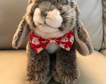 Christmas reindeer pet bow, bunny bow, Christmas bow, Christmas gift, Christmas pet, holiday gift, pet gift