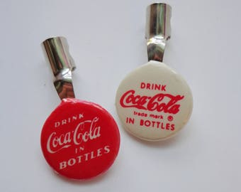 Rare Vintage Coca-Cola Pencil Clip Collectible Promotional Advertising Nostalgia Retro Classic Soda Pop Slogan Novelty Accessories