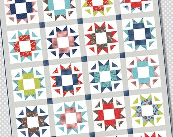 NEW! Skipper Quilt Pattern by A Bright Corner Free Shipping in the US