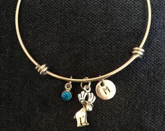 Moose Bangle Moose Bracelet