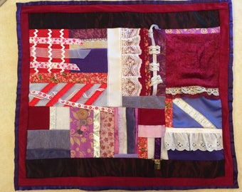 Fidget Quilt / Sensory Blanket - I Will Wear Purple 4