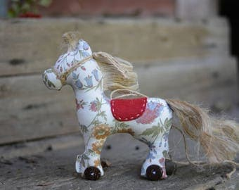 Horse Soft Stuffed Fabric Toy for Home Nusery Decor Gift