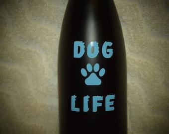 Dog Life Vinyl Decal