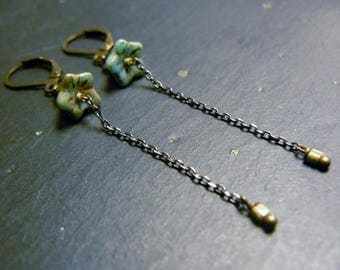Fine and elegant earrings