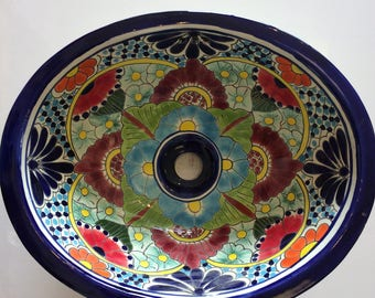 Free Shipping on Colorful Talavera Sink