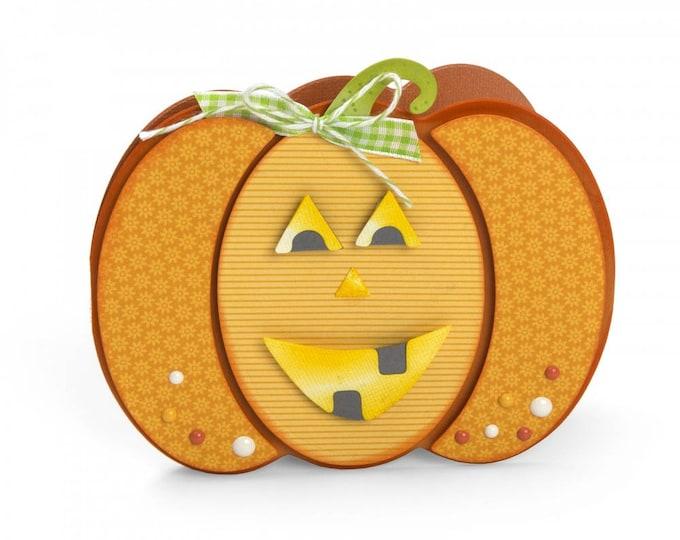 New! Sizzix Framelits Die Set 10PK - Pumpkin Fold-its by Stephanie Barnard 662261