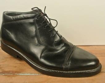 Giorgio Brutini Solid Black Chukka Ankle Boot Men's Size: 11D