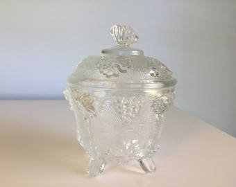 Vintage Candy Dish Glass Candy Dish