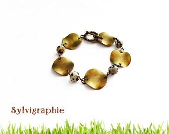 Bronze ethnic bracelet