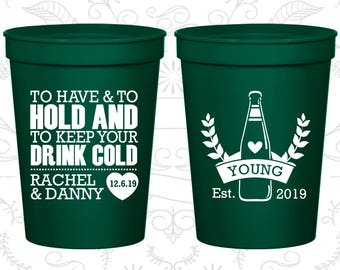 Forest Green Stadium Cups, Forest Green Cups, Forest Green Party Cups, Forest Green Wedding Cups (435)