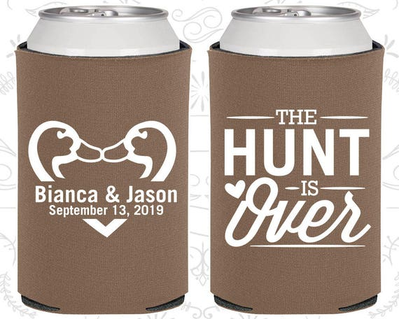 Personalised Wedding Gifts For Guests: Wedding Favor Can Coolers, Custom Wedding Favors