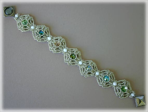 ColorWindows bracelet beading TUTORIAL