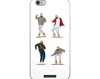 Hotline Bling iPhone 5/5s/Se, 6/6s, 6/6s Plus Case, Dance Tutorial Illustration, Fun Pop Art, Dance Music Funny Drawing, Fan Art (5)