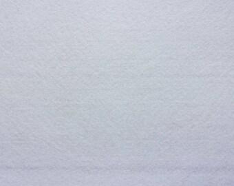 Felt 1.5 mm white A4 size sheet